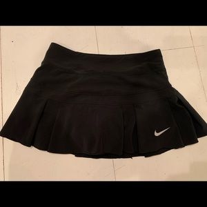 (Vintage) Black Nike Tennis Skirt